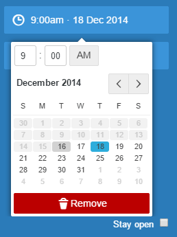 Select date and time to schedule tweets in TweetDeck