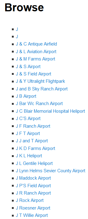 Add World airports listings, directory in WordPress blog