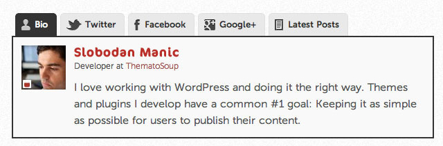 Best Author Info, Profile Manager WordPress Plugin