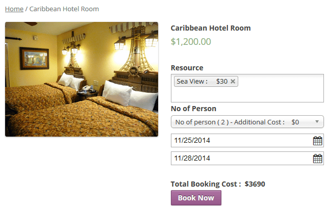Best WooCommerce Plugin To Add Hotel Booking System