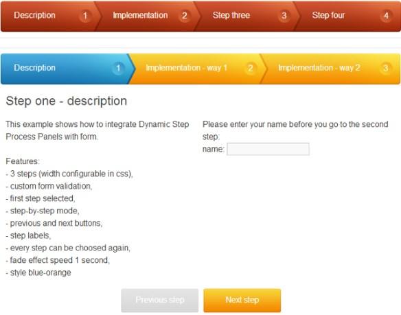 WordPress Plugin For jQuery Multi Steps Registration Forms