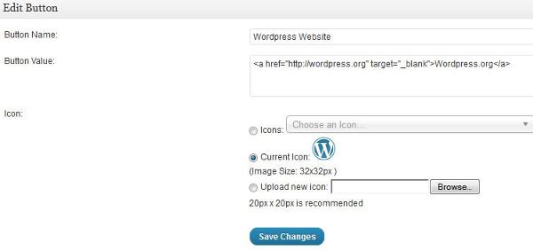 Create custom button for WordPress visual editor