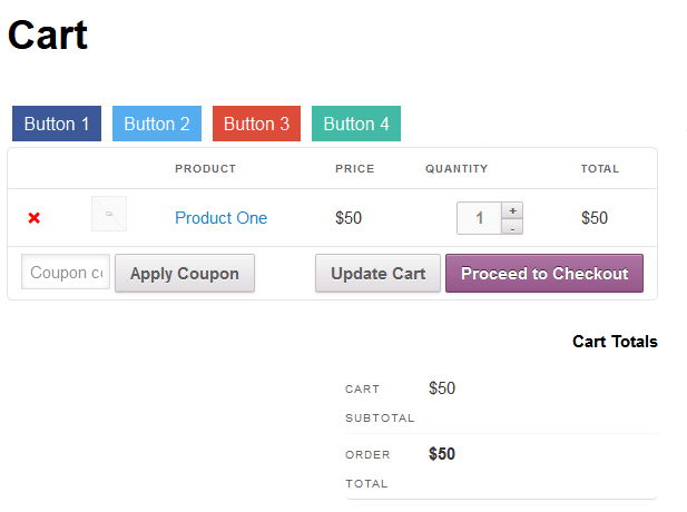 How To Add Custom Buttons In Pages In WooCommerce Store