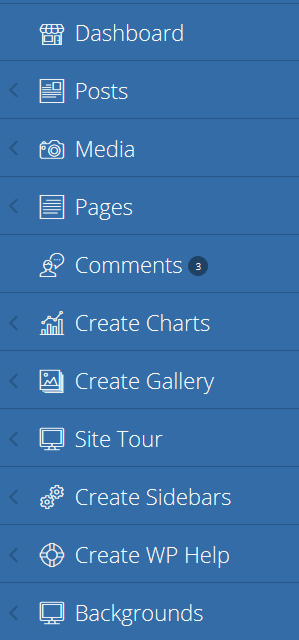 How To Add Nested Push Menu In WordPress Admin Dashboard