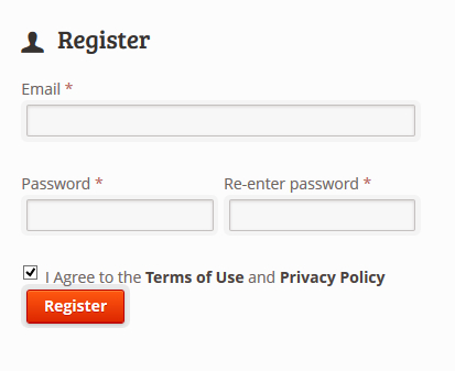 Add Terms Of Service Check-box In Register Form In WordPress