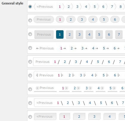 Change Default Pagination Of WordPress And Add Custom Styles