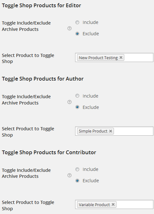 How to hide, show products based on user roles in WooCommerce?