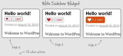 Custom Like, Unlike Buttons For Posts And Pages In WordPress