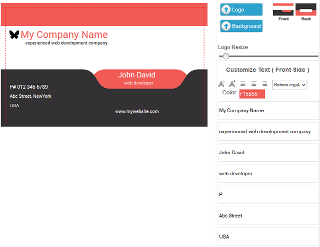 Let Customers Design Business Cards, Flyers In WooCommerce