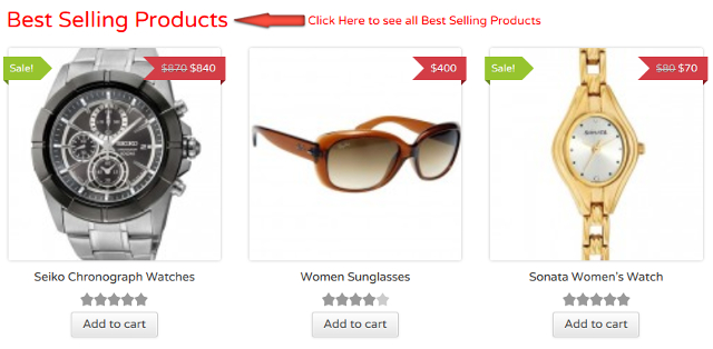 Shortcodes For WooCommerce To Show Top Selling Products