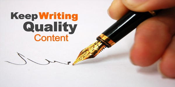 Create unique and quality content with Keyword in mind