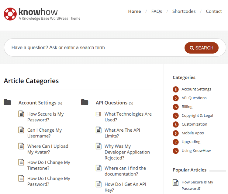 KnowHow WordPress Theme