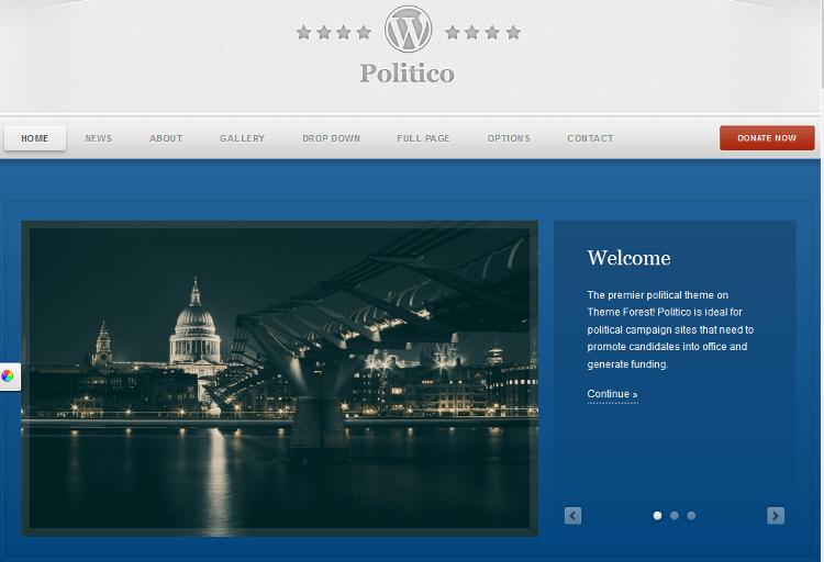 Politico WordPress Theme