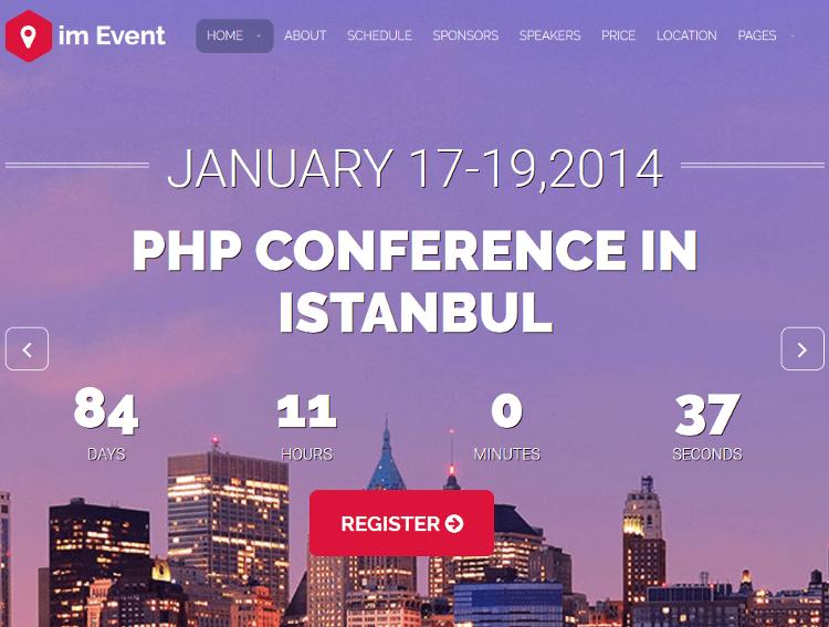 im Event WordPress Theme