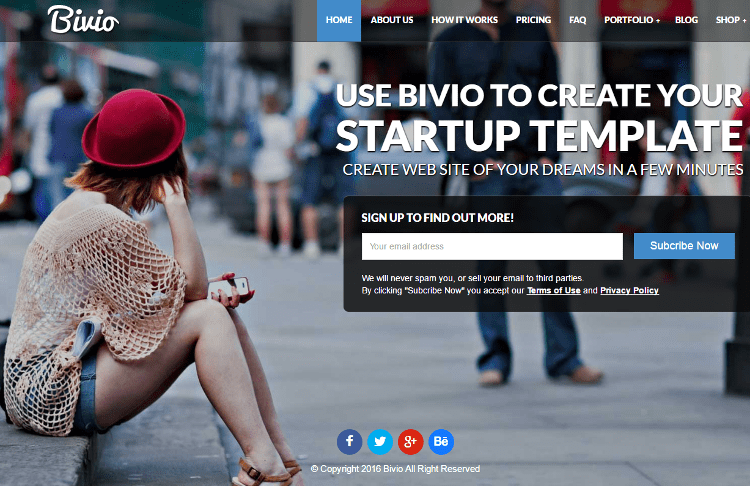 Bivio WordPress Theme