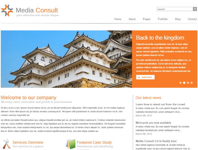 Media Consult WordPress Theme
