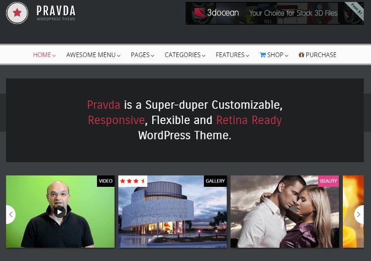 Pravda WordPress Theme