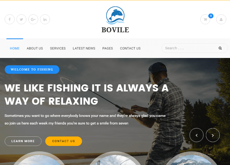 Bovile WordPress Theme