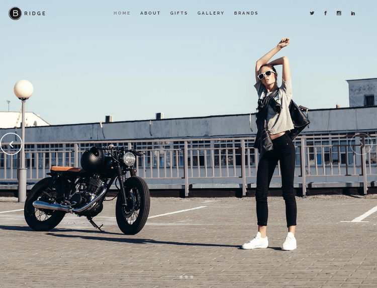Bridge WordPress Theme