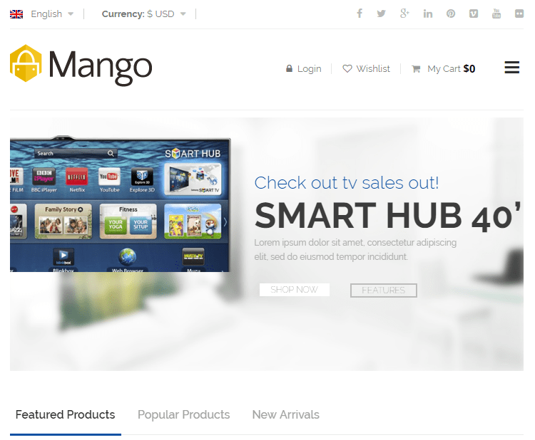 Mango WordPress Theme
