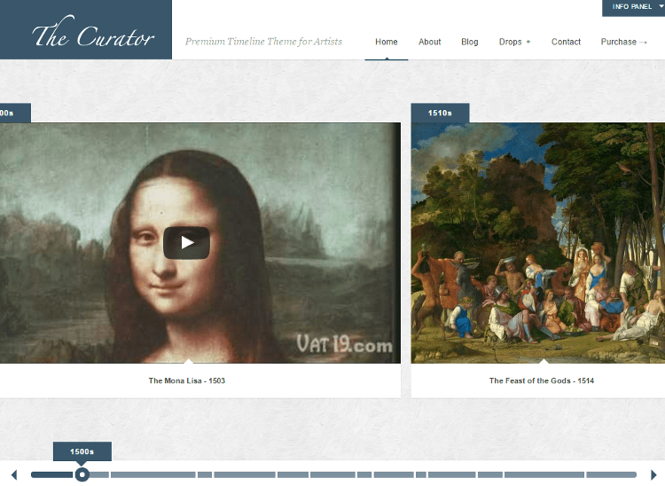 The Curator WordPress Theme