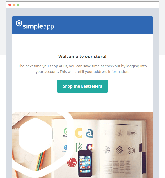 SimpleApp Email Newsletter Templates