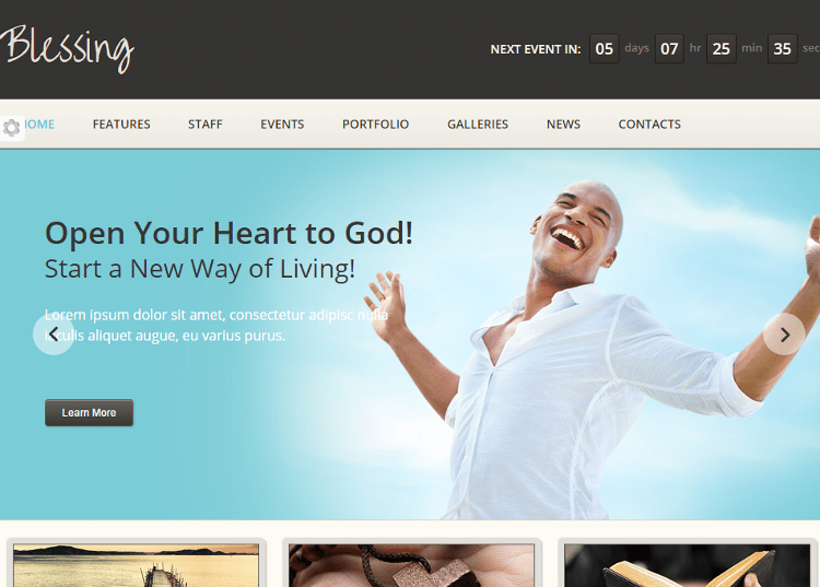 Blessing HTML5 Template