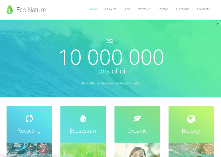 Eco Nature HTML5 Template