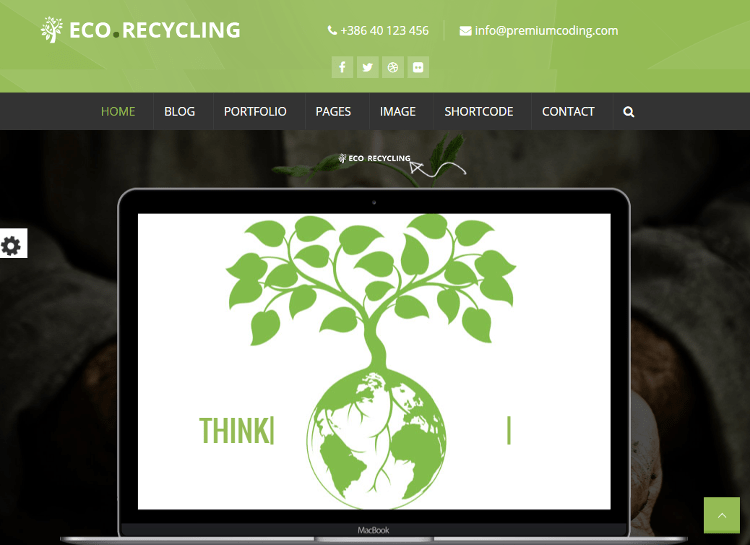 Eco Recycling HTML5 Template