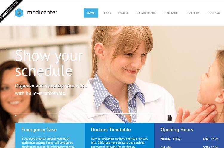 MediCenter HTML5 Template