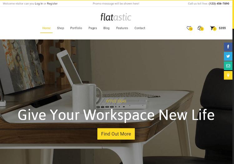 Flatastic HTML5 Template