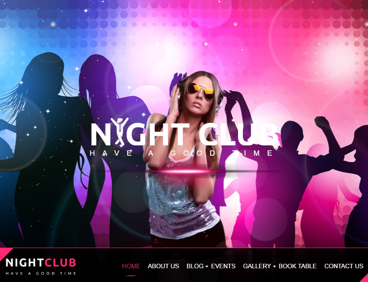 Music Club HTML5 Template