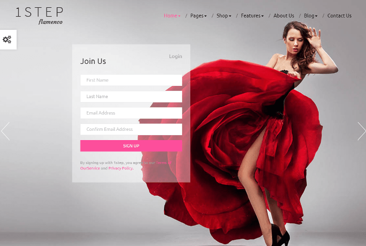 One Step HTML5 Template