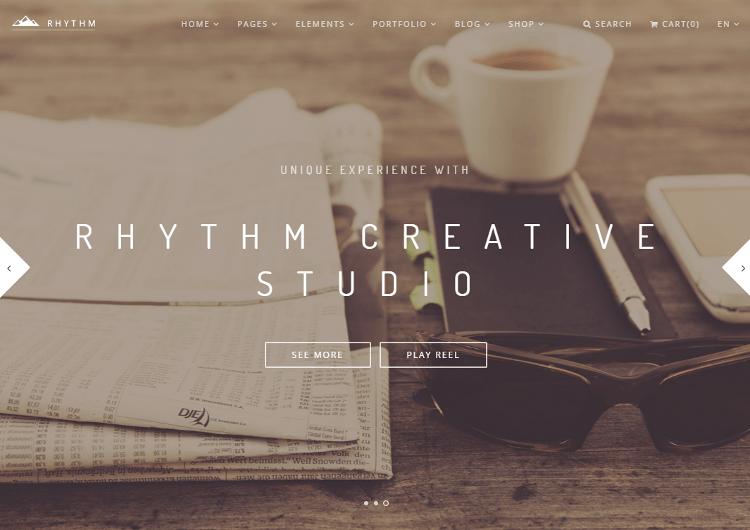 Rhythm Drupal Theme