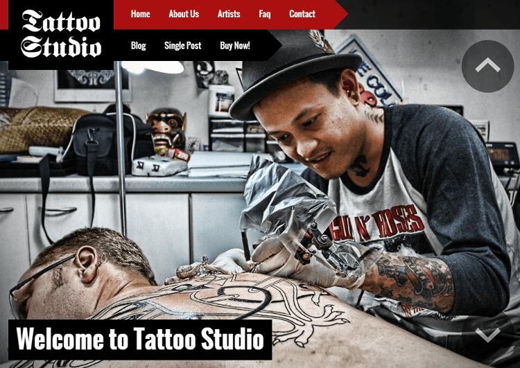 Tattoo Studio HTML5 Template
