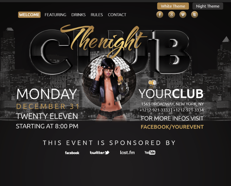The Club HTML5 Template