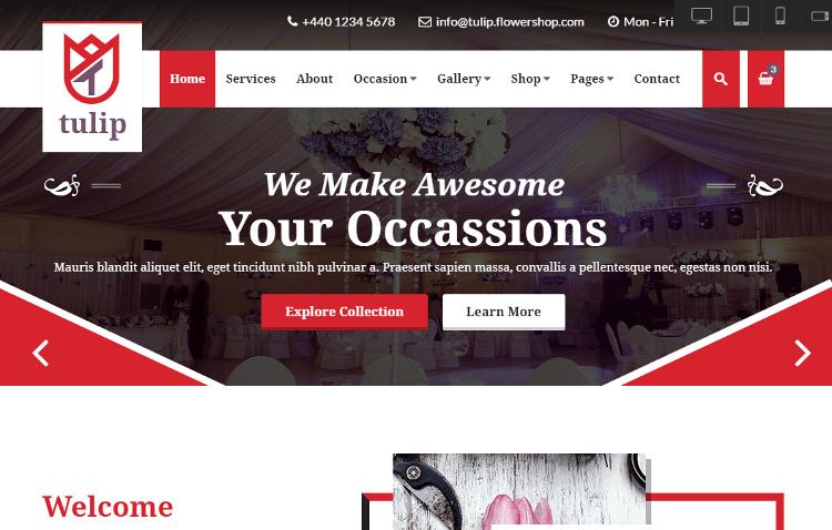 Tulip HTML5 Template