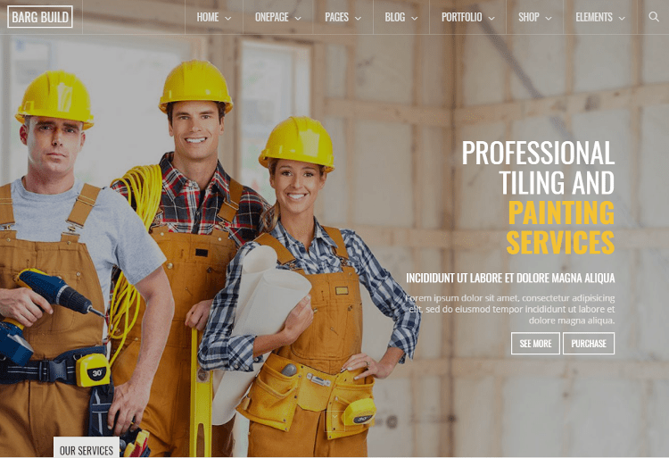 Berg Construction Drupal Theme