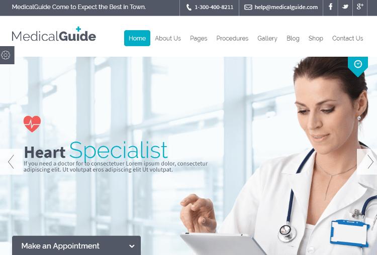 MedicalGuide Drupal Theme