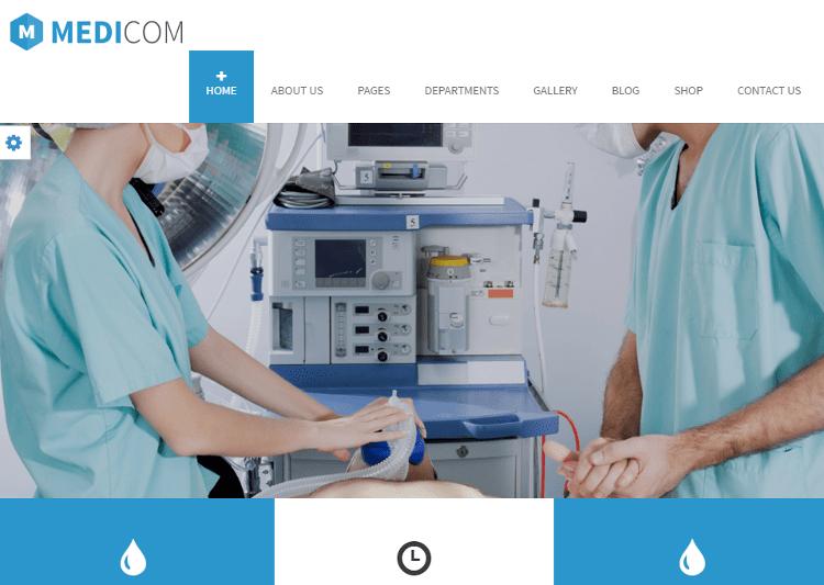 Medicom Drupal Theme