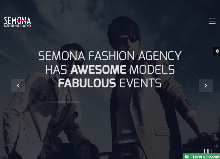 Fashion Semona Joomla Template