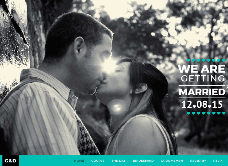 LUV Wedding Joomla Template
