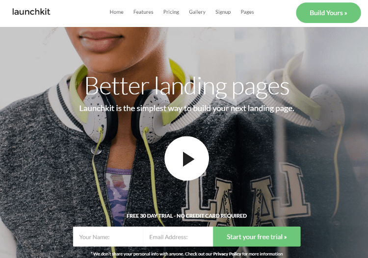 Launchkit Joomla Template
