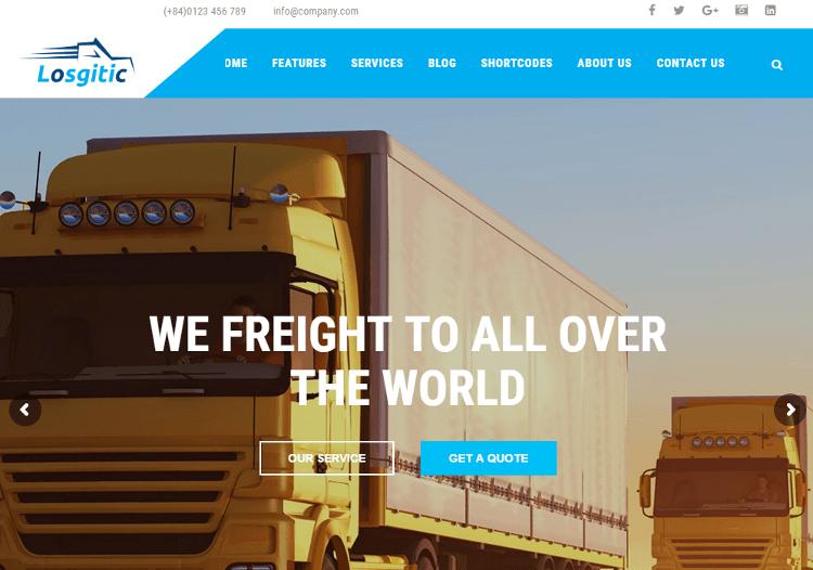 ZT Logistic Joomla Template