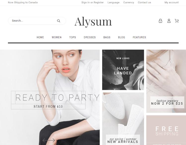 Alysum PrestaShop Theme