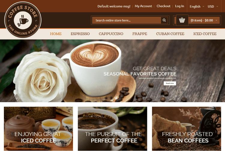 Coffee Magento Theme
