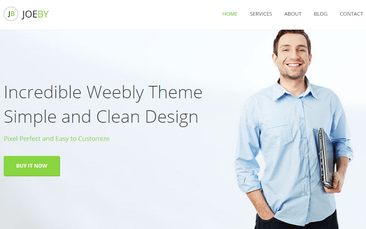 Joeby Weebly Template
