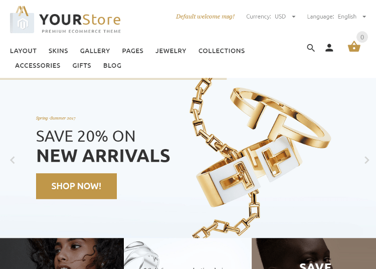 YourStore Magento Theme