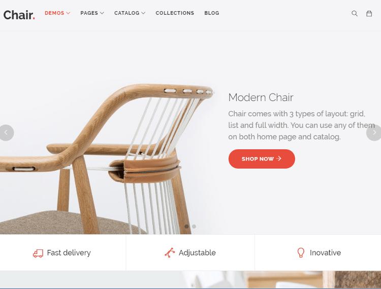 Chair Shopify Theme