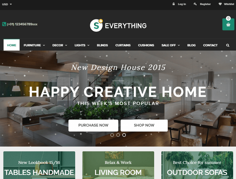 Everything Furniture Store Shopify Theme